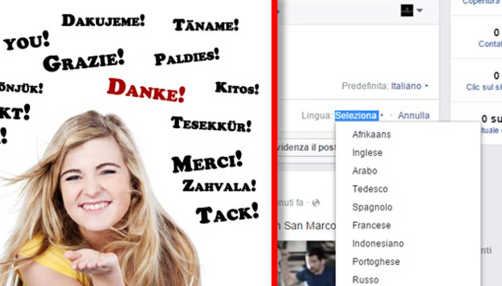 Facebook Multilingua: Come Pubblicare Un Unico Post In Più Lingue