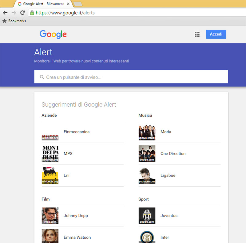 Factory Communication ti spiega il servizio-google-alert 01