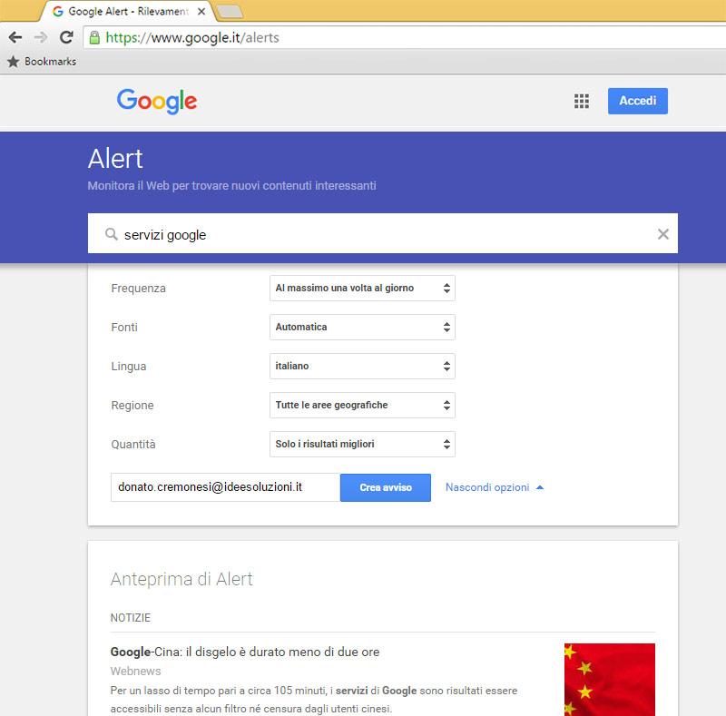 Factory Communication ti spiega il servizio-google-alert 04