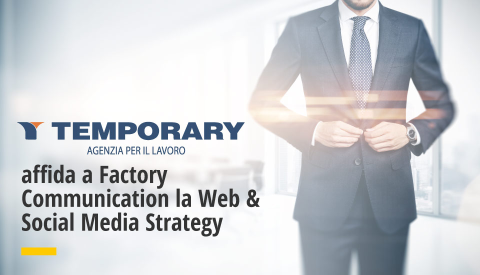 web & social media marketing di temporary spa a factory communication