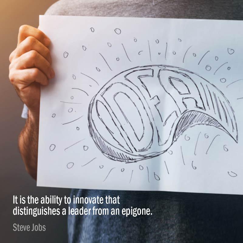 Secondo Steve Jobs, è La Capacità Di Innovare Che Distingue Un Leader Da Un Epigono