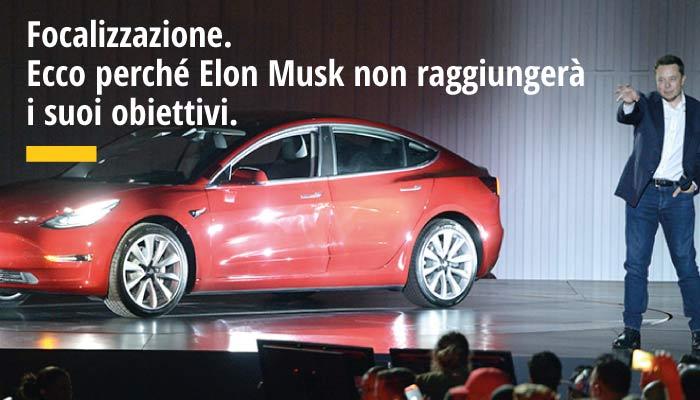 Ecco Perché Elon Musk Non Raggiungerà I Suoi Obiettivi