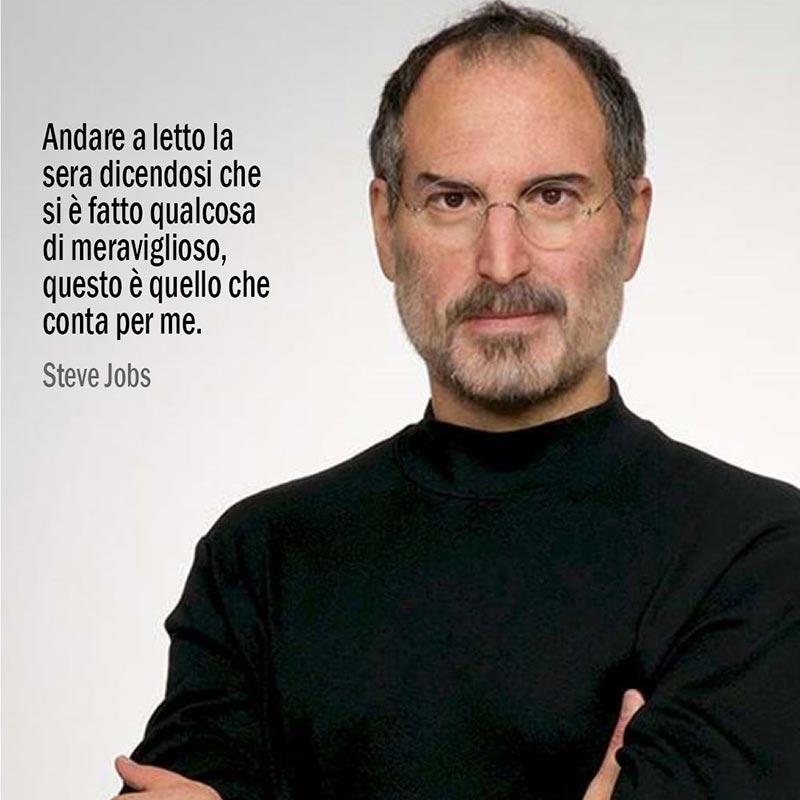 Citazione su quello che conta per di Steve Jobs