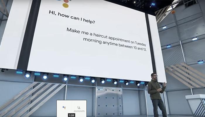 Google Duplex Demo Al Google IO 2018