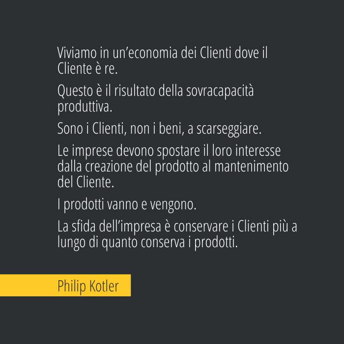 Citazione di Philip Kotler