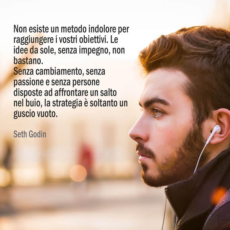 Il raggiungimento degli obiettivi per Seth Godin