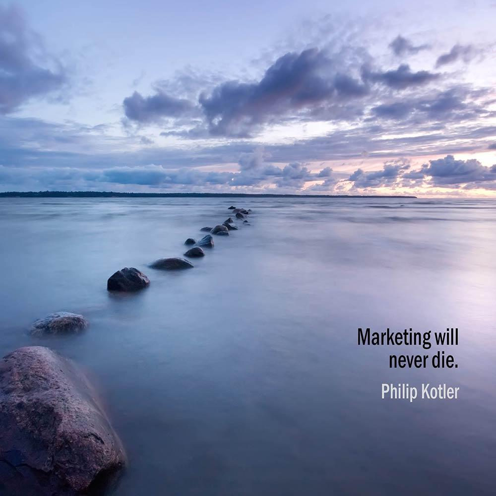 Il Marketing Non Morirà Mai. Philip Kotler