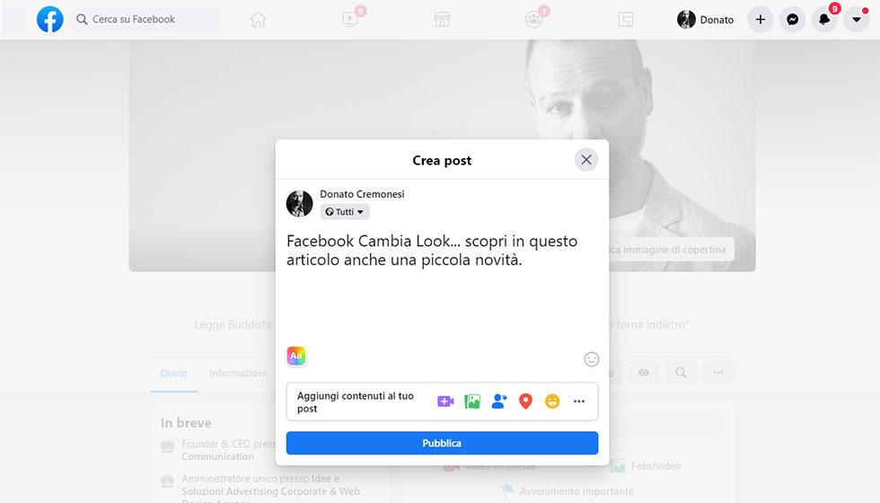 Scopri Il Nuovo Look Di Facebook