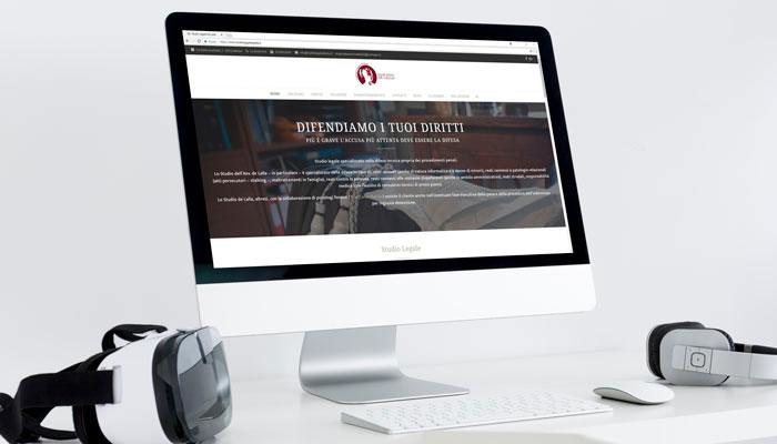 Il sito dello Studio Legale De Lalla è un ottimo esempio di Content Marketing