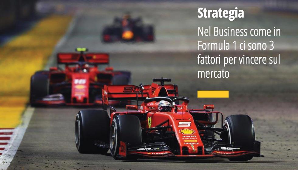 Nel Business Come In Formula Uno Ci Sono 3 Fattori Per Vincere Sul Mercato: Decisione, Determinazione E Leadership