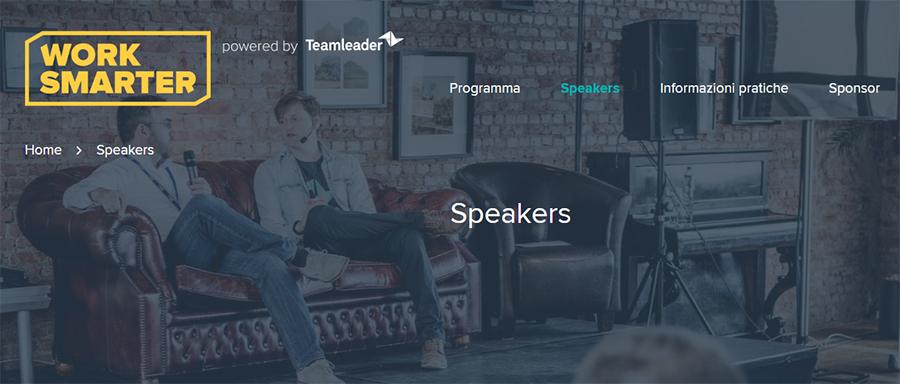 work smarter Evento organizzato da Teamleader