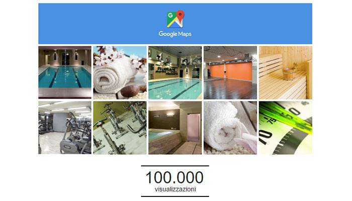 Le Foto Della Pagina Google Plus Di San Marco Wellness ICLUB Hanno Raggiunto Le 100.000 View Con I Complimenti Ufficiali Di Google