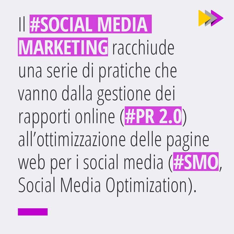 Gestione dei rapporti online (PR 2.0) e ottimizzazione delle pagine Web per i Social Media (SMO Social Media Optimization