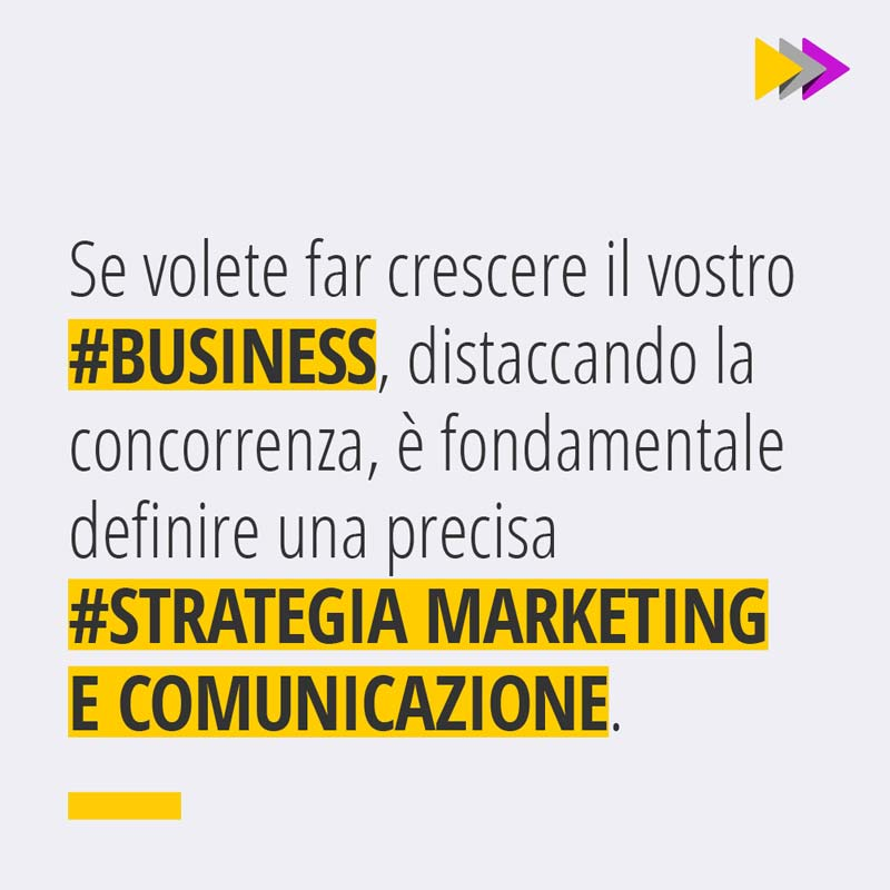 Se volete far crescere il vostro #BUSINESS distaccando la concorrenza, è fondamentale-definire una precisa #STRATEGIA MARKETING E COMUNICAZIONE