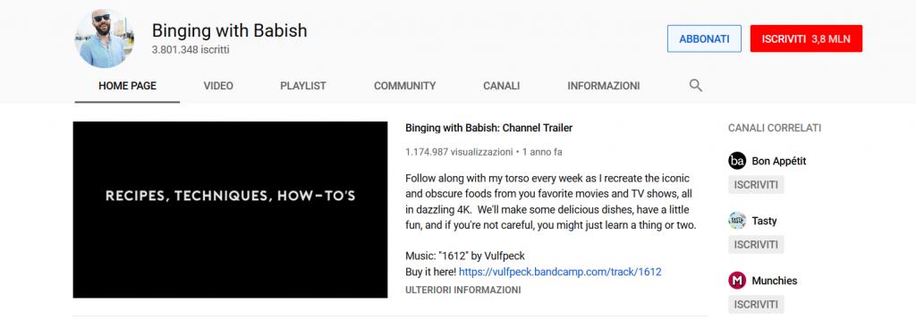 YouTube SEO descrizione