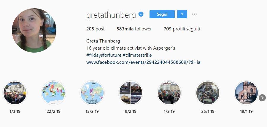Greta Thunberg un interessante caso di Comunicazione