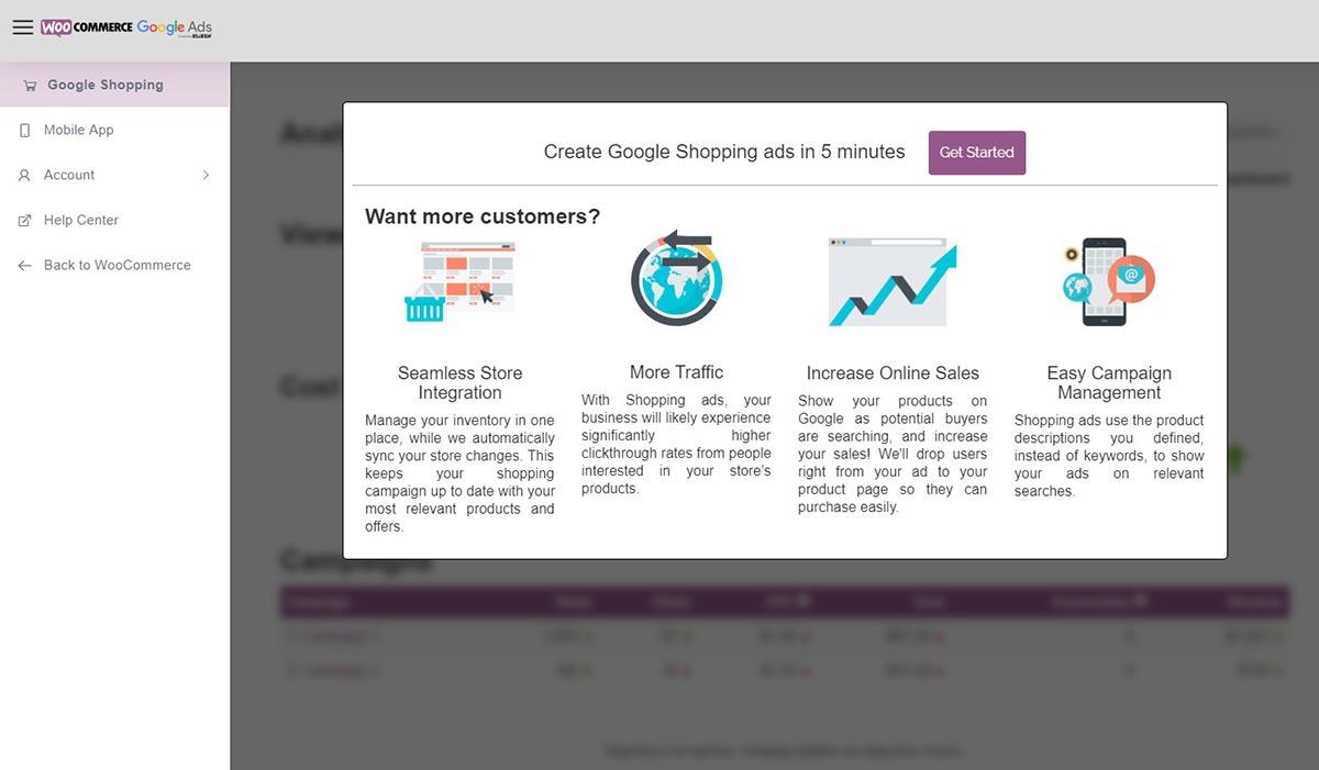 Google Ads e WooCommerce