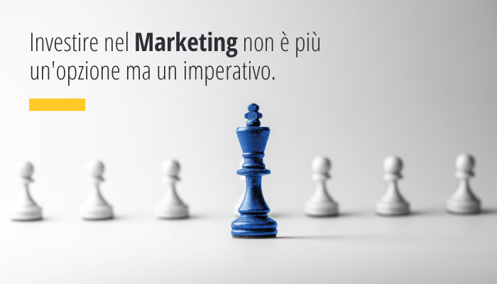 Se Non Investi Nel Marketing I Tuoi Competitors Guadagneranno Nuove Quote Di Mercato, Compromettendo Il Futuro Della Tua Azienda.