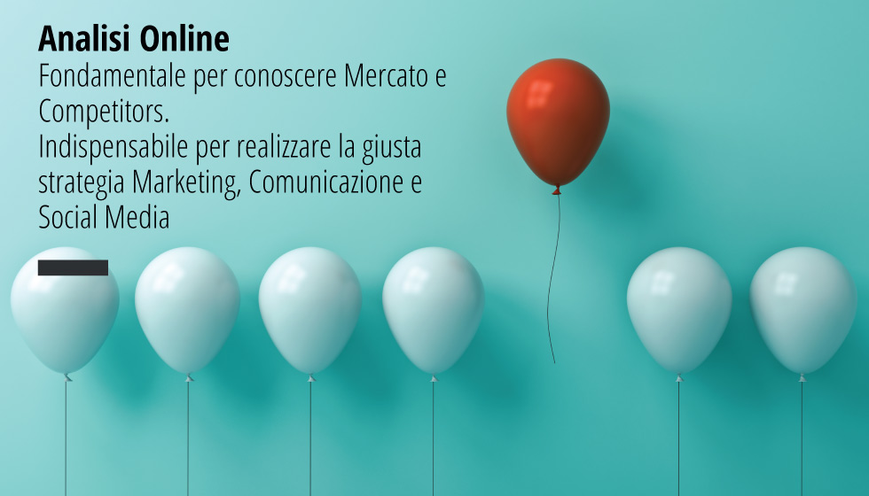 Analisi Online. Indispensabile per realizzare la giusta strategia Marketing, Comunicazione e Social Media