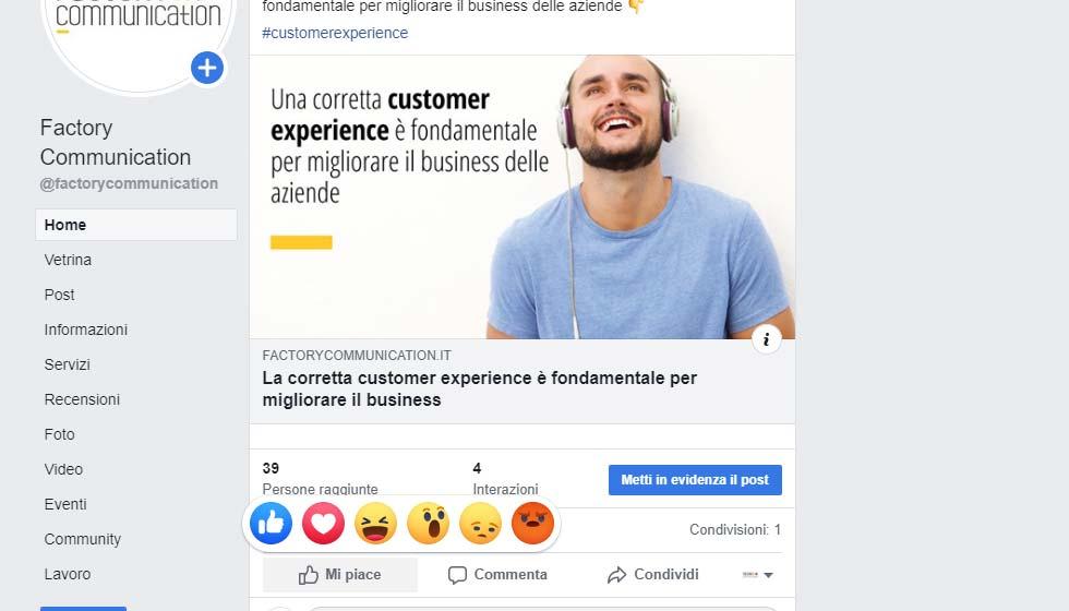 Facebook Reactions: La Novità Social Della Settimana!
