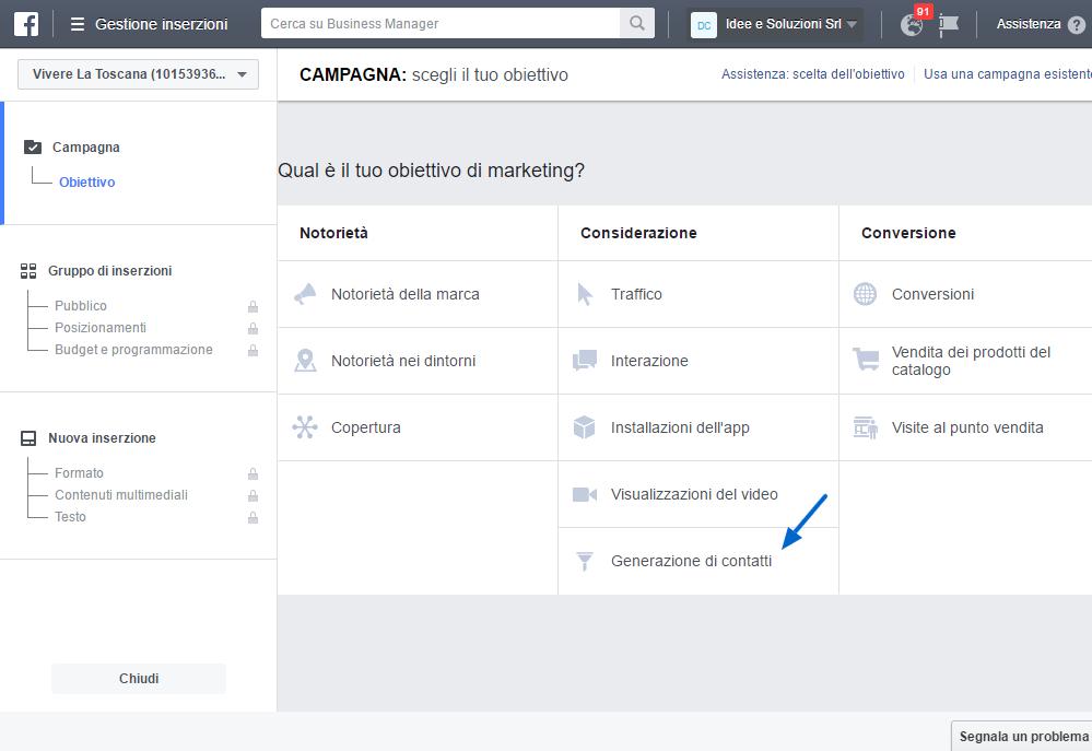 scopri come utilizzare Facebook per acquisire nuovi contatti