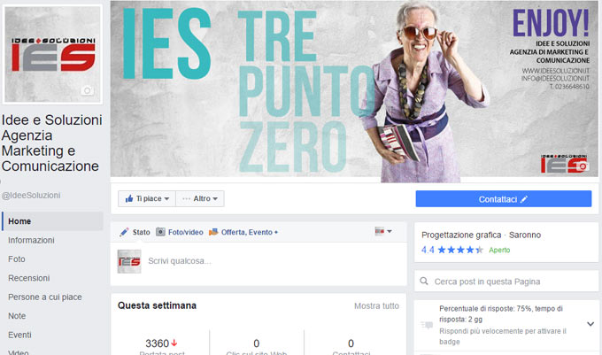 Nuovo Layout Pagine Facebook
