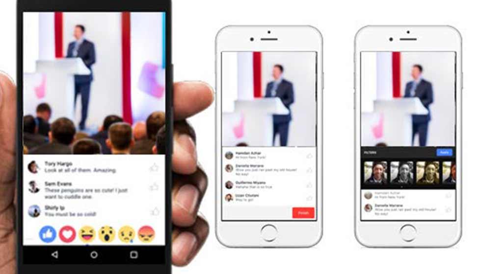 Servizio Video Facebook In Gruppi Ed Eventi