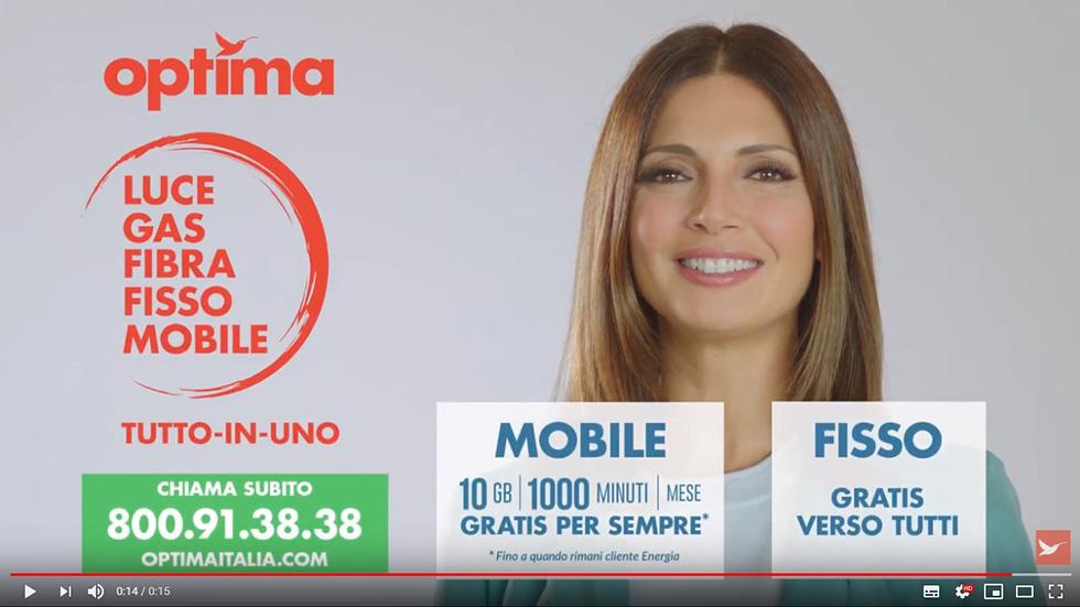 spot televisivo di Optima Italia