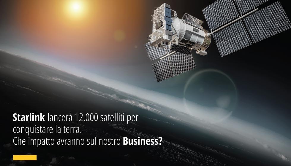 Starlink, Società Di Elon Musk, Lancerà 12.000 Satelliti Per Conquistare La Terra