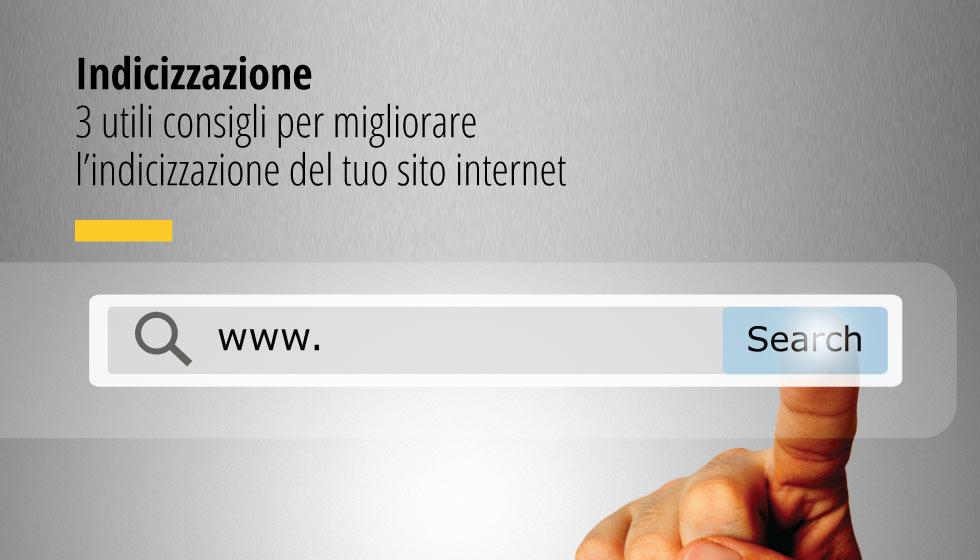 Per indicizzazione si intende l'inserimento di un sito web o un blog nel database di un motore di ricerca.