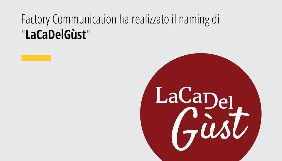 Factory Communication Ha Realizzato Il Naming Di
