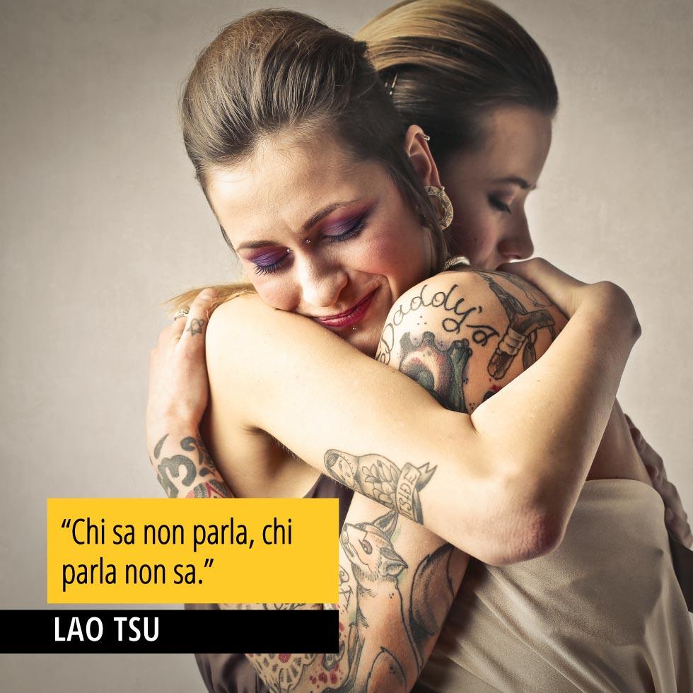 Citazione di Lao Tsu Chi sa non parla chi parla non sa