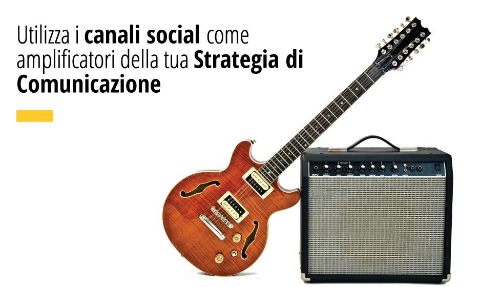 Utilizza I Canali Social Come Amplificatori Della Tua Strategia Di Comunicazione