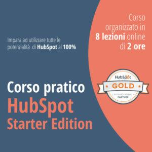 Corso pratico di HubSpot Starter Edition.