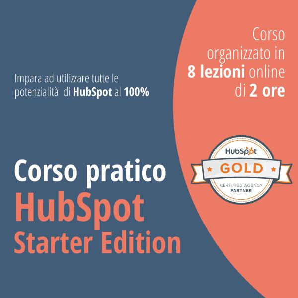Corso Pratico HubSpot Starter Edition