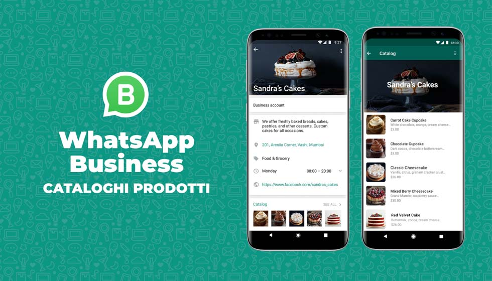 Catalogo Prodotti WhatsApp Business