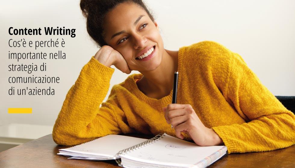 Scopriamo insieme cos'è il Content Writing