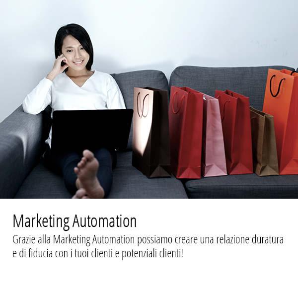 Grazie alla Marketing Automation possiamo creare una relazione duratura e di fiducia con i tuoi clienti e potenziali clienti!