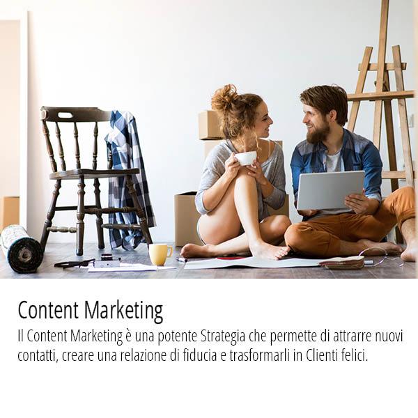 Content Marketing permette di attrarre nuovi contatti e trasformarli in Clienti felici