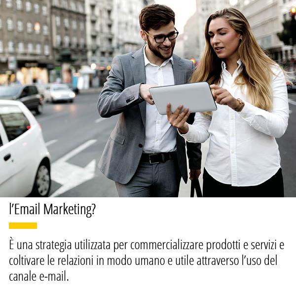 Email Marketing strategia utilizzata per commercializzare prodotti e servizi e coltivare le relazioni