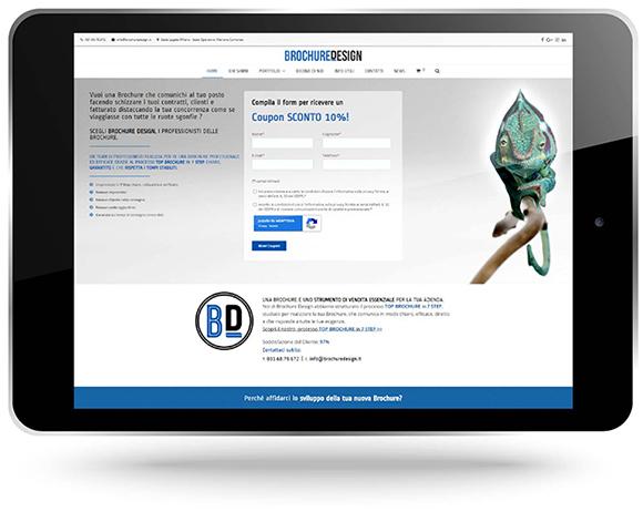 Factory Communication ha realizzato il sito internet di Brochure Design