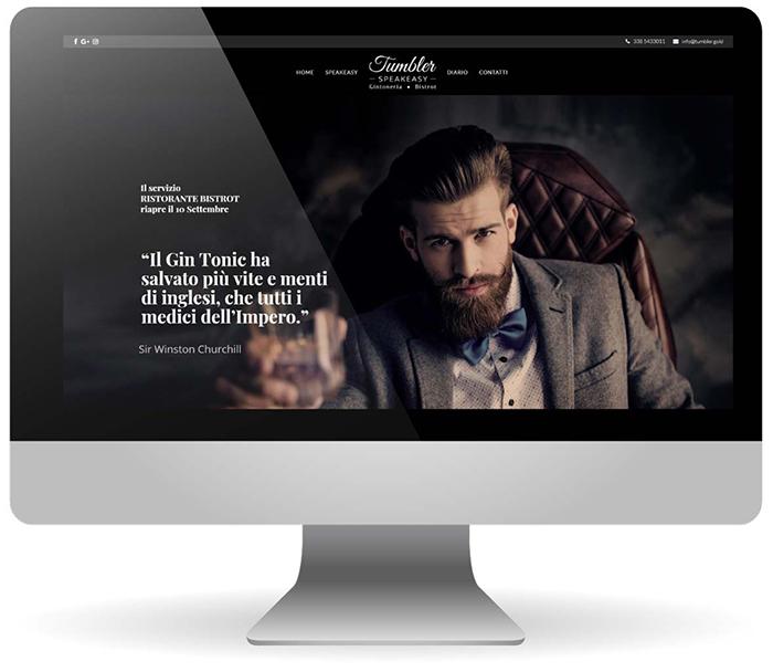 Factory Communication ha realizzato il sito internet di Tumbler Speakeasy