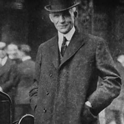 Henry Ford Fondatore Della Ford Motor Company