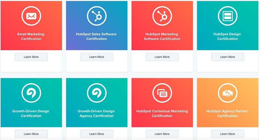 """Factory Communication """"14 strategie di fidelizzazione dei clienti che funzionano"""" - Piattaforma HubSpot Academy per istruire i clienti"""