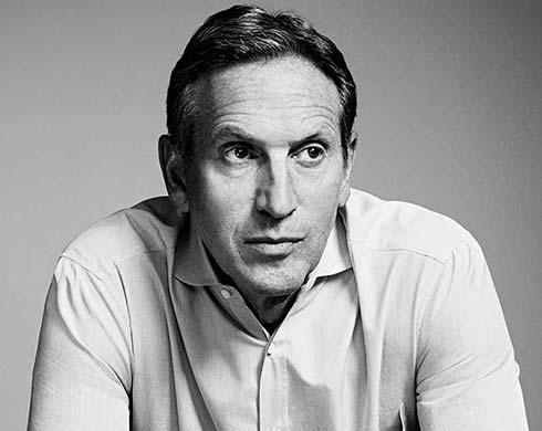In Questa Fotografia Howard Schultz Ex CEO Starbucks