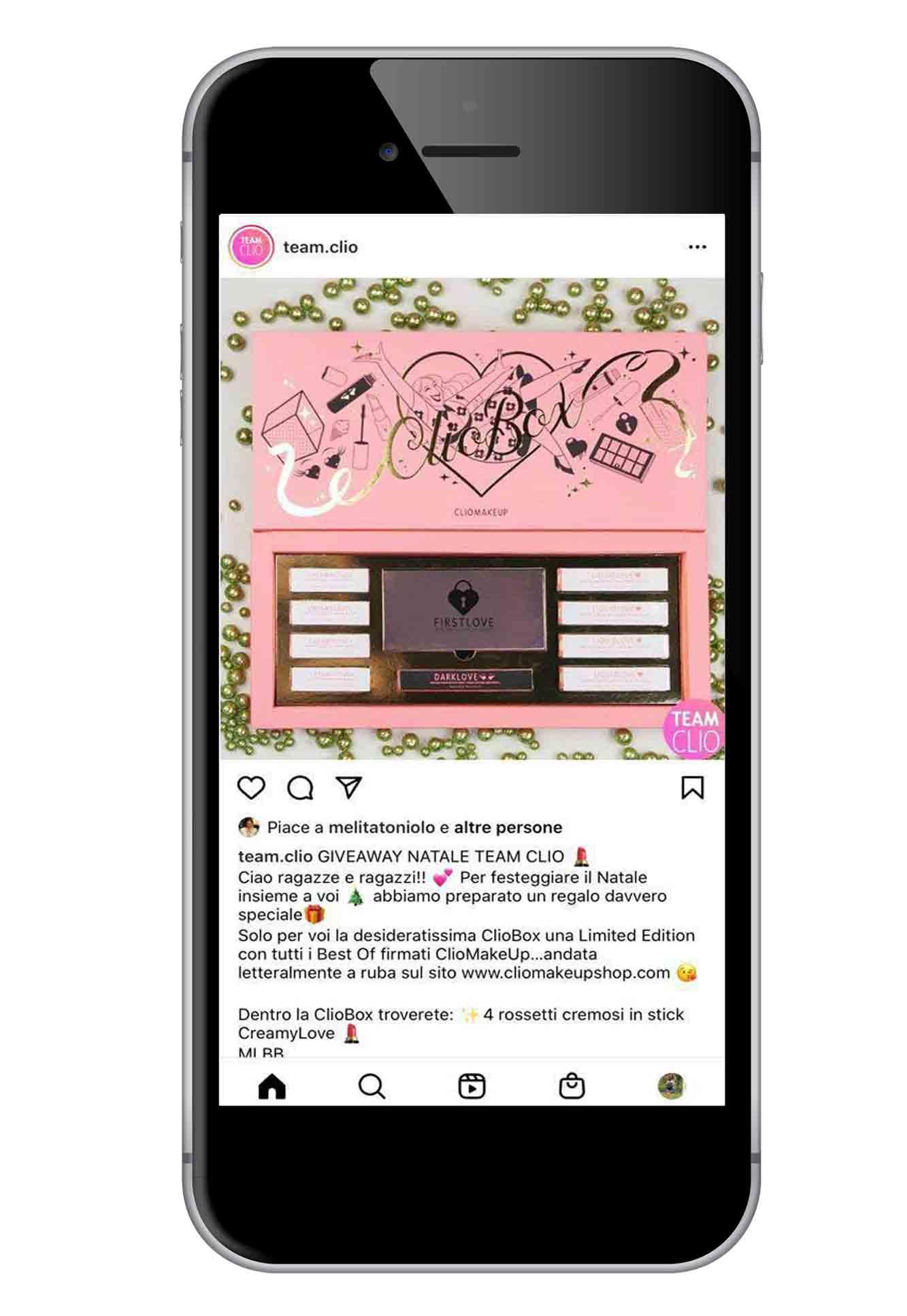 Giveawaydi Clio Make Up su Instagram