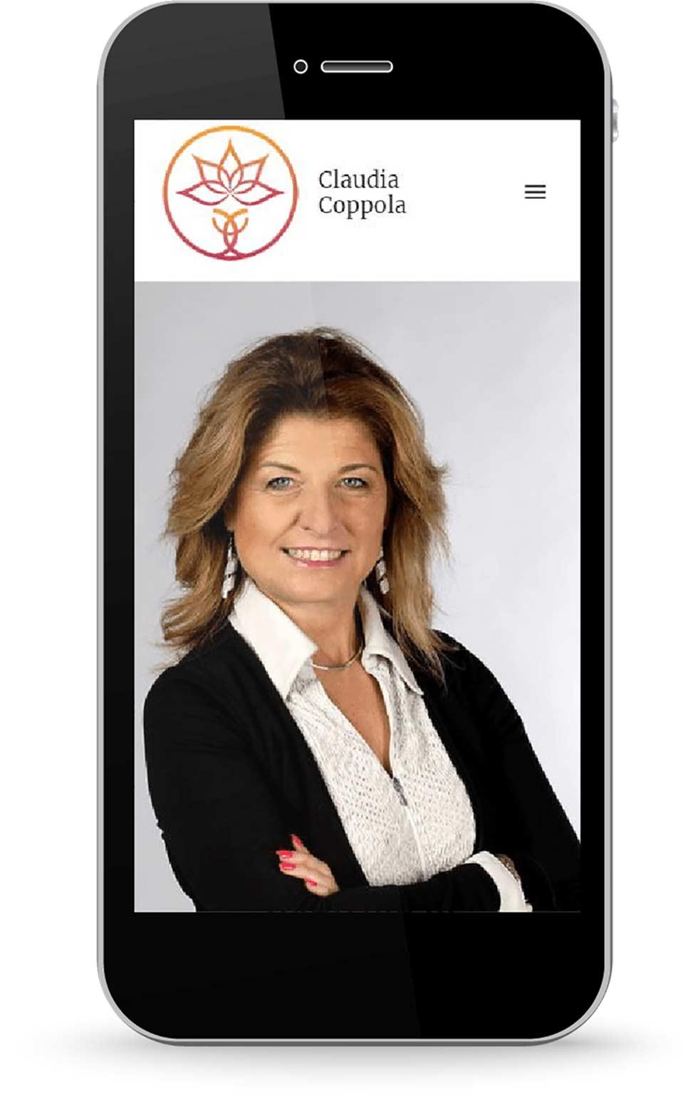 Implementazione di HubSpot sul nuovo sito web di Claudia Coppola Coach by Factory Communication