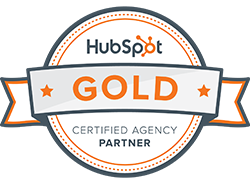Logo HubSpot Certified Gold Partner