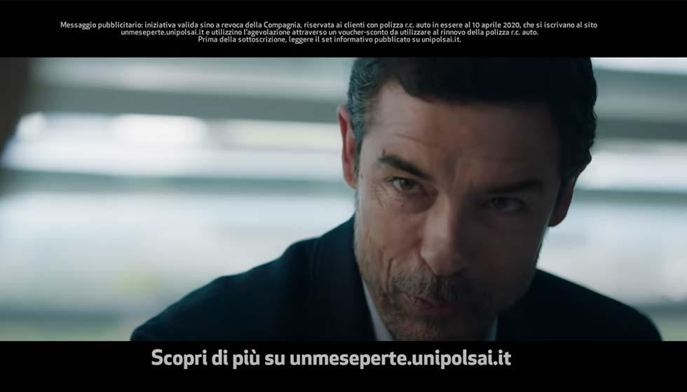 Alessandro Gassmann Testimonial Di Unipolsai Campagna UnMesePerTe