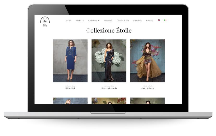 Factory Communication realizzazione di E commerce per Glen Couture